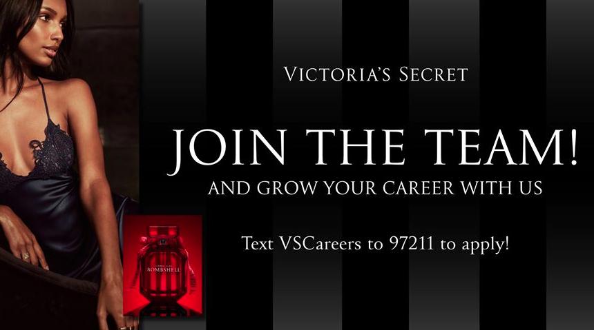 Victoria's Secret is Hiring!
